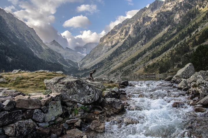 Lac Gaube GR10 Pireneje szlaki trekking