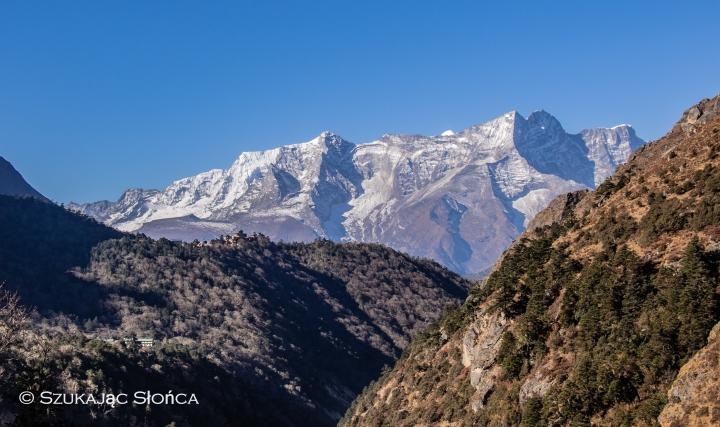Tengboche Pangboche szlak Himalaje trekking EBC