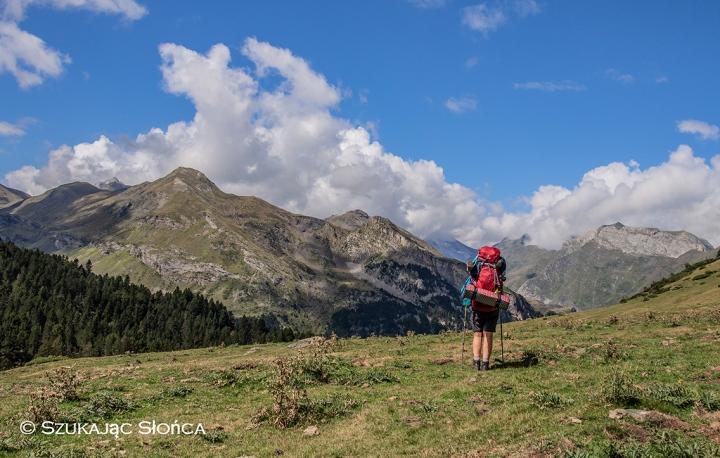 Gavarnie szlaki piesze trekking Pireneje