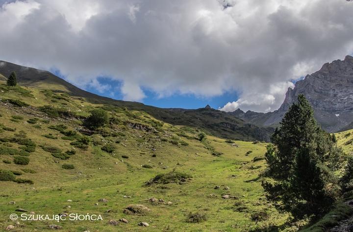 Refuge des Espuguettes szlaki Gavarnie Pireneje