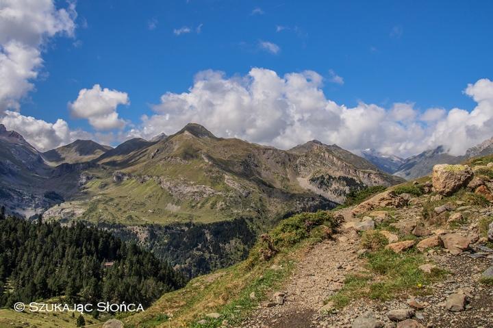 Refuge des Espuguettes szlak trekking Gavarnie Pireneje