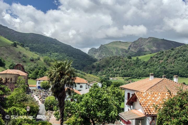 Bidarray GR10 szlak Pireneje Kraj Basków