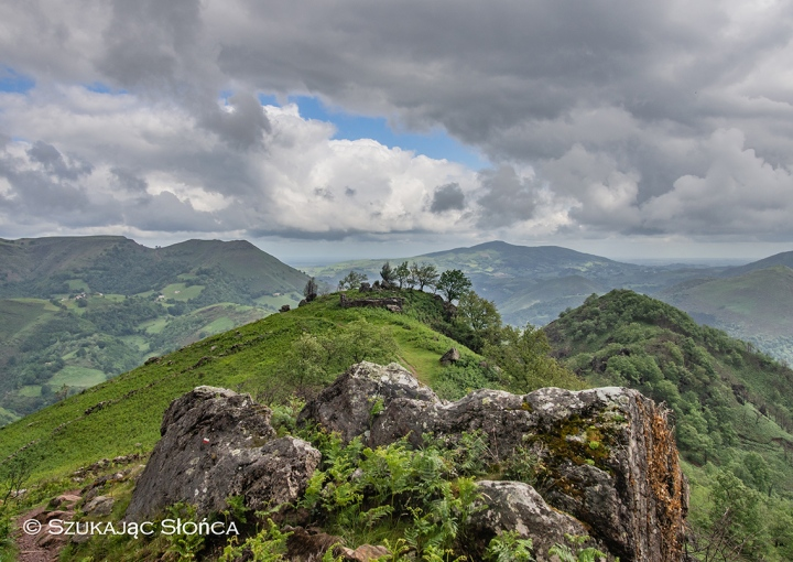 GR10 Bidarray szlak Pireneje Kraj Basków