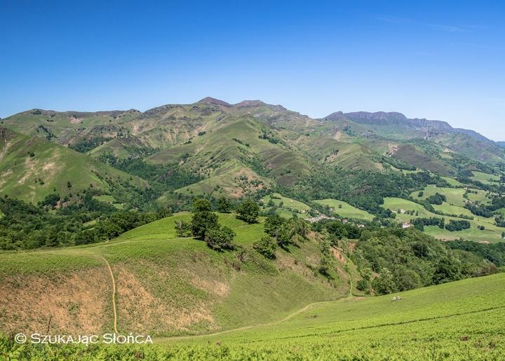 GR10 Kraj Basków szlaki Pireneje