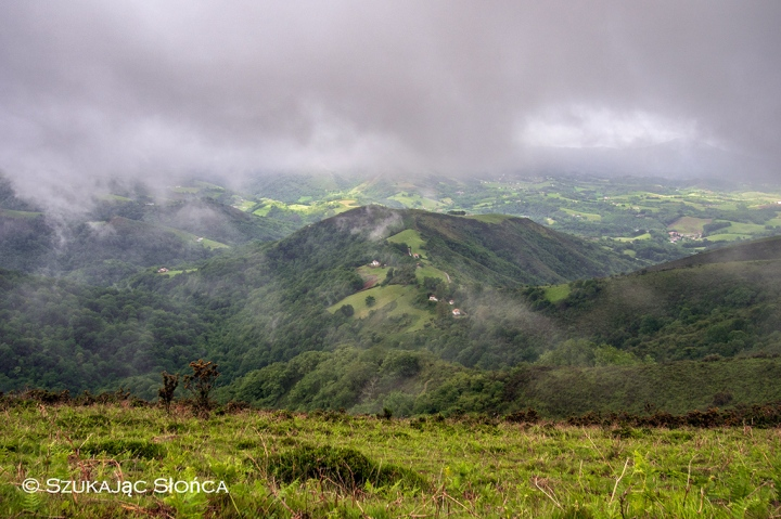 Pireneje, GR10, Ainhoa Bidarray szlak