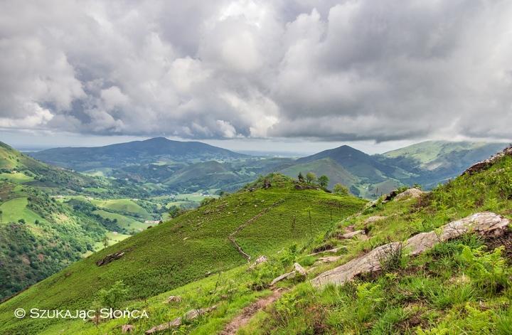 gdzieś na szlaku w Kraju Basków GR10