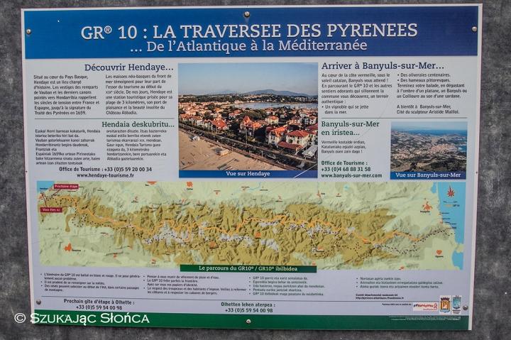 GR10 spacer od Atlantyku do Morza Śródziemnego