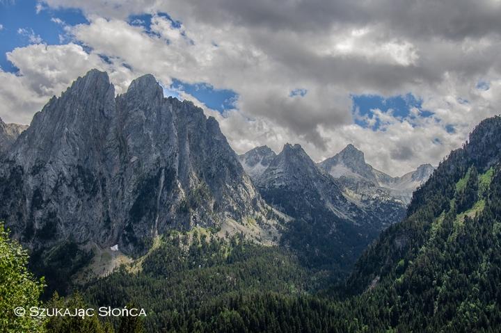 Pireneje Hiszpania szlaki trekking