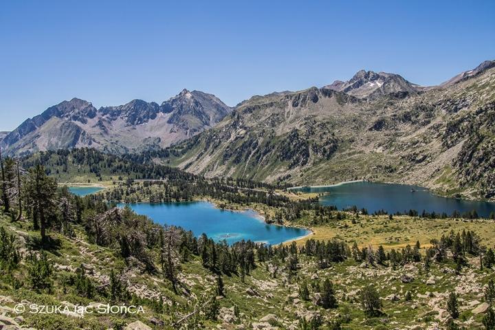 Pireneje Neouvielle GR10 szlak trekking