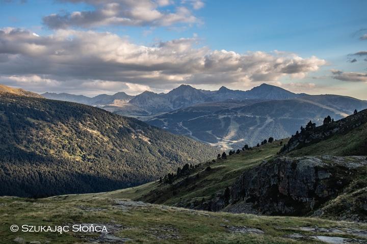 Pireneje trekking Andorra szlaki