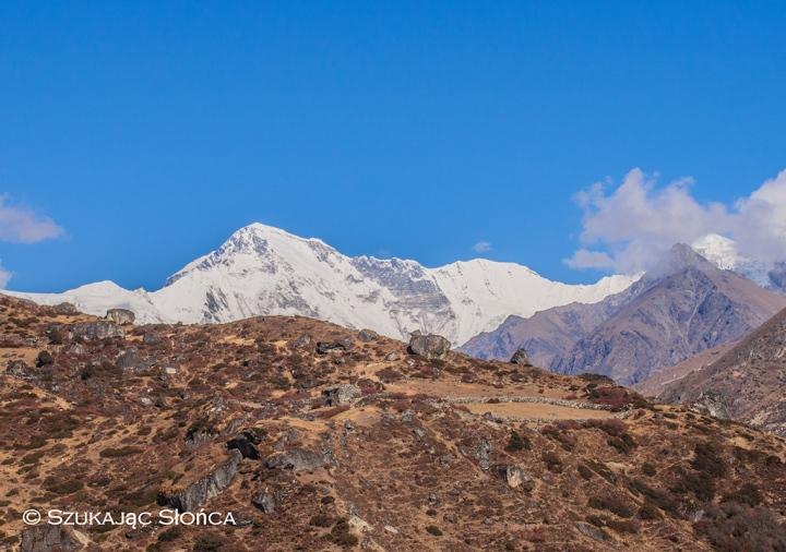 Himalaje trekking szlak Gokyo Ri, Cho Oyu