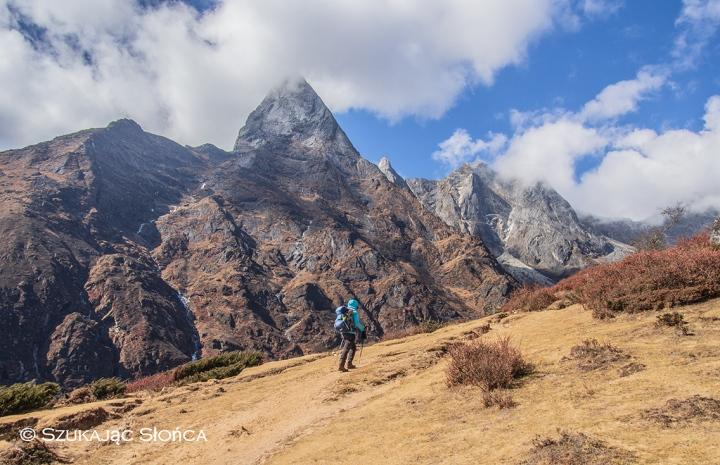 Dole Himalaje trekking szlak Gokyo Ri