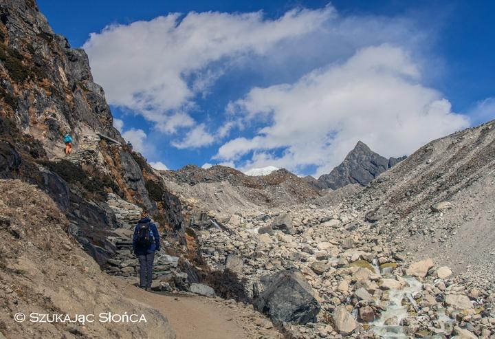 Machermo Gokyo szlak, Himalaje trekking Gokyo Ri