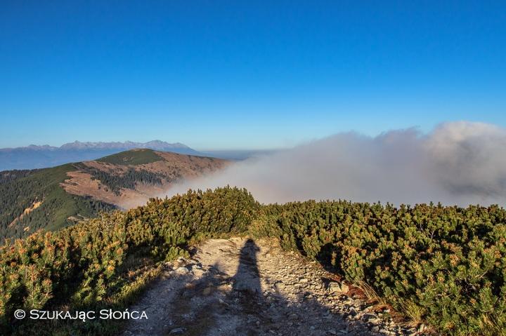 Tatry, chmura i ja ;-)
