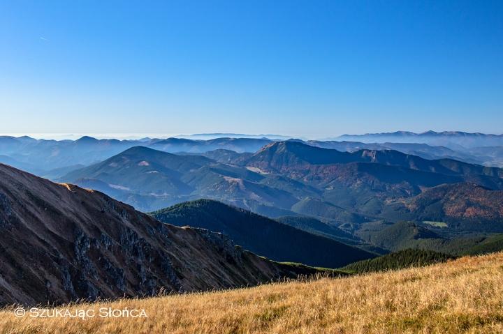 Chabenec Niżne Tatry panorama