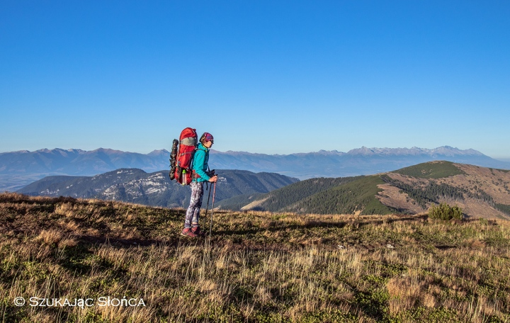 plecak na kilka dni załadowany jak na dwa miesiące w Pirenejach ;-)