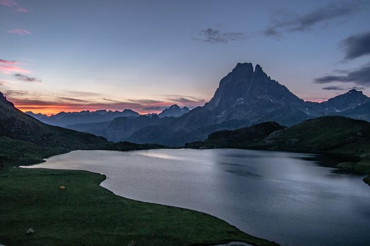 Lac Gentau Ayous Pireneje szlak