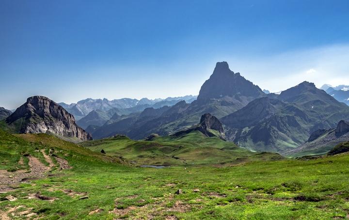 Col des Moines, Pireneje szlaki
