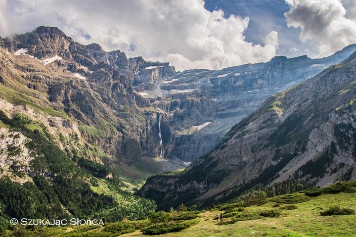 Cirque de Gavarnie szlaki Pireneje