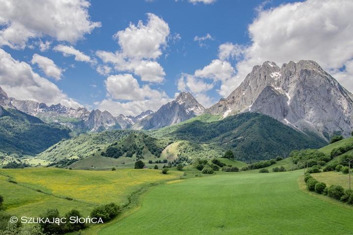 Lescun szlaki Pireneje