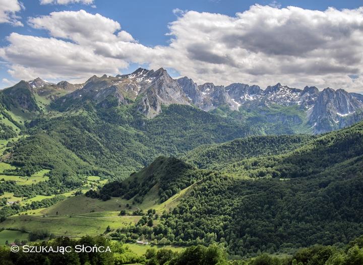 Lescun trekking Pireneje szlaki