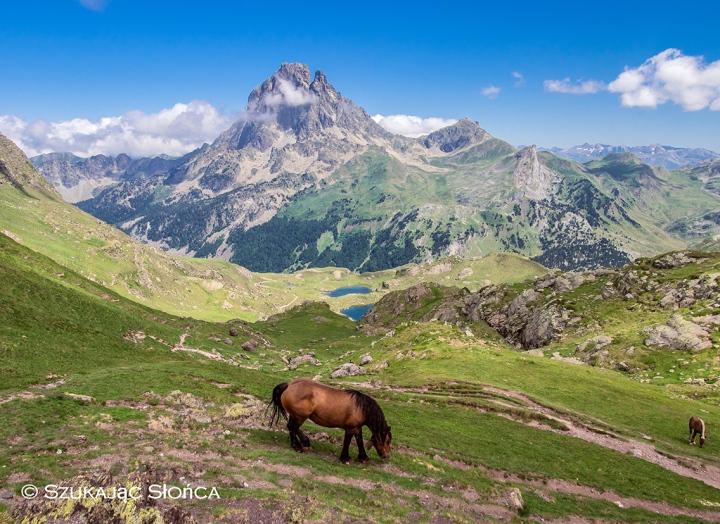 Pic du Midi d'Ossau szlaki Ayous Pireneje trekking