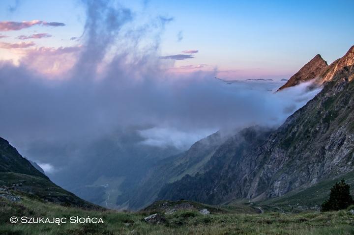 Pireneje Refuge de Venasque szlaki