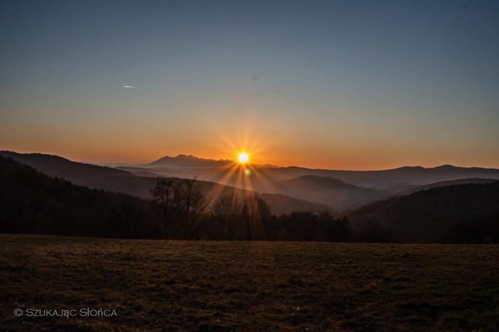 wierchomla-zachód-słońca