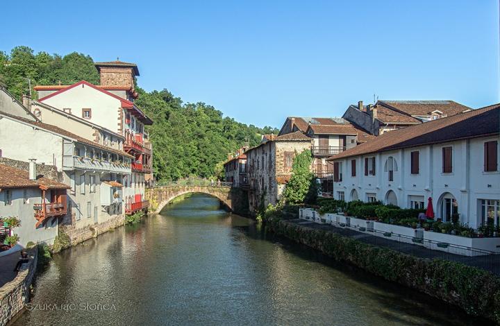 Saint Jean Pied de Port GR10 szlak - Pireneje
