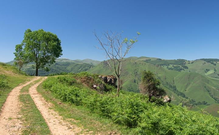 Saint Jean Pied de Port - Kaskoleta-szlak-GR10 Pireneje